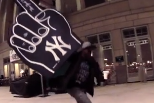 The Zoo York Crew Skates Yankee Stadium