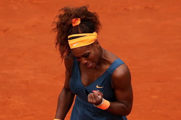 Serena Romps Through, Then Passes French Test