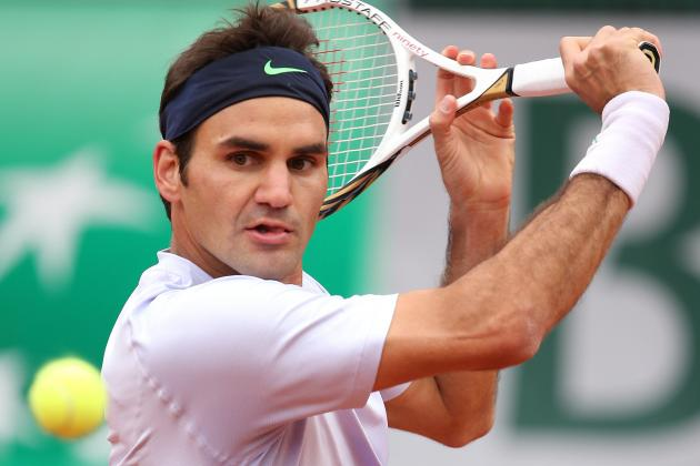Analyzing Roger Federer's Path to 2013 French Open Semifinals