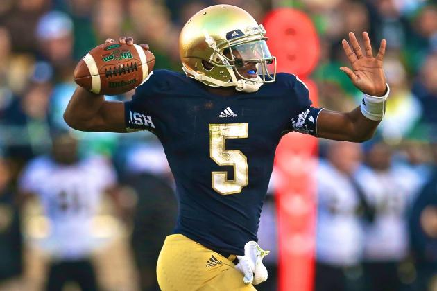Notre Dame QB Everett Golson Just Left a World of Potential on the Table