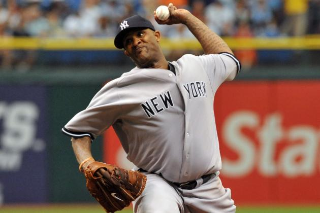 Skidding Sabathia Struggles as Yankees Fail to Sweep Rays