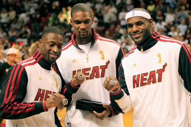Can Miami Heat's Big 3 Surpass Dynasty of San Antonio Spurs' Big 3?