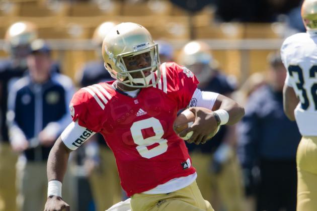 Notre Dame Football: Should Brian Kelly Burn Malik Zaire's Redshirt Season?