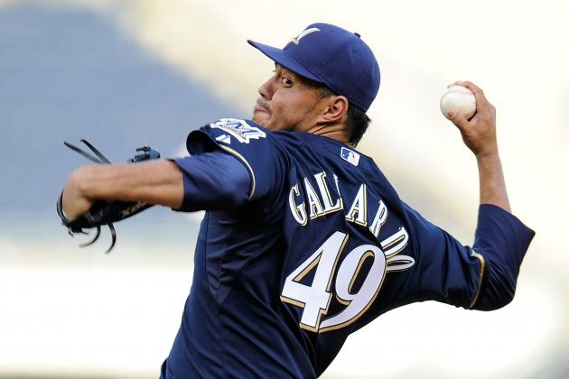 Game Blog: Gallardo Fails to Stop Slide as Brewers Fall to Pirates