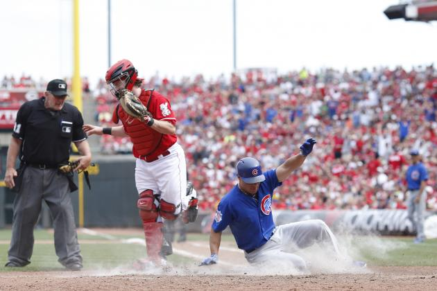 Cubs Rally from 4-Run Deficit, Top Reds in 10
