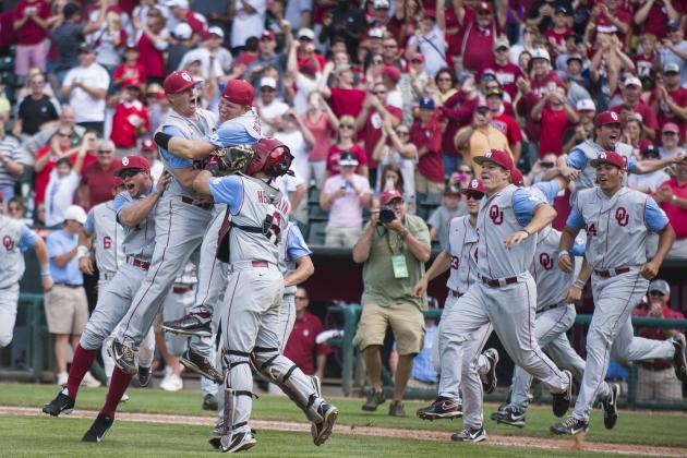 Big 12 Baseball Tournament Championship: Oklahoma Downs KU 7-2 for Tourney Title