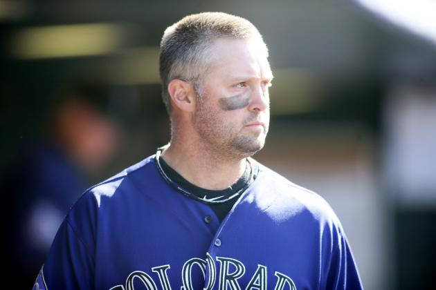 Cuddyer Leaves After Being HBP