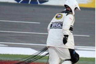 A Camera Cable Fell on Kyle Busch's Car During the Coca-Cola 600
