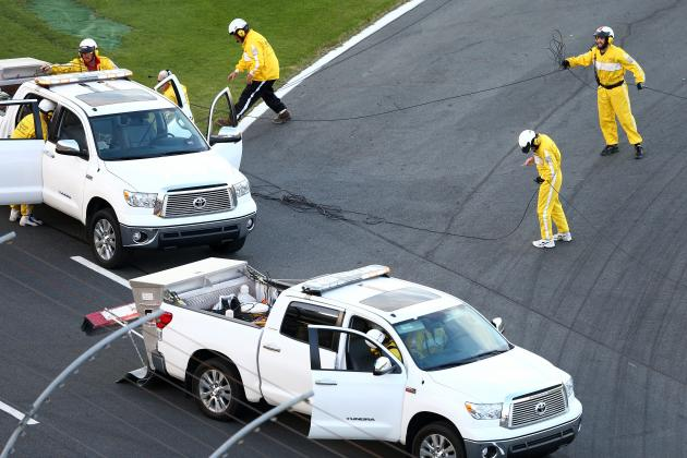Rope Cable Wreaks Havoc Upon Coca-Cola 600 at the Charlotte Motor Speedway
