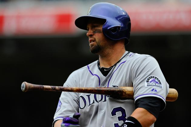Rockies Fall to Giants, Cuddyer Injury Not Serious