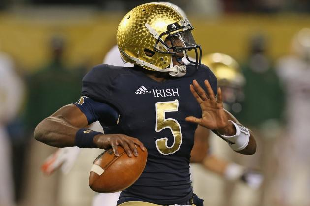 Preseason College Football Top 25 with Notre Dame QB Everett Golson Gone