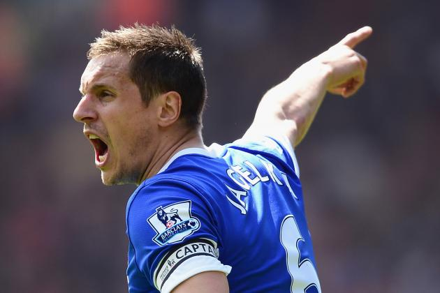 Phil Jagielka Committed to Everton Despite Departure of David Moyes