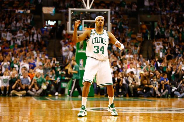 Cavs Beat Writer Starts Ridiculous Rumor on Paul Pierce's Boston Celtics Future