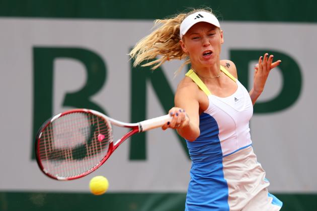 Caroline Wozniacki Defeats Laura Robson to Advance at 2013 French Open