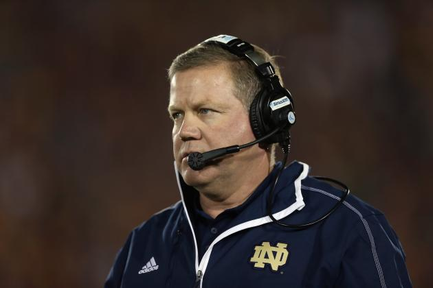 Brian Kelly Will Find Way to Adapt After Everett Golson Loss