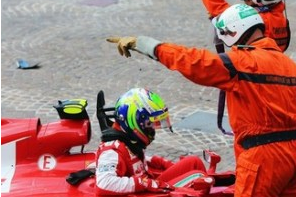 Ferrari Say Car Failure Caused Massa's Crash