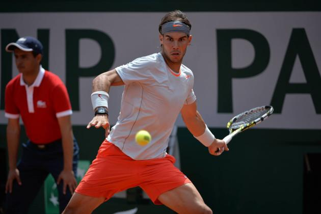 Rafael Nadal Defeats Daniel Brands to Advance at 2013 French Open