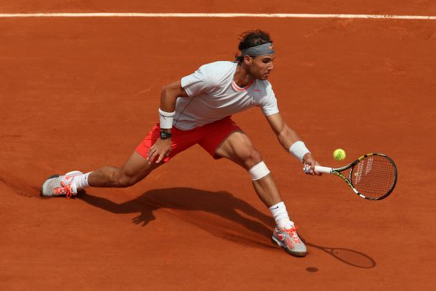 Rafael Nadal Passes French Open First Round Test Against Daniel Brands