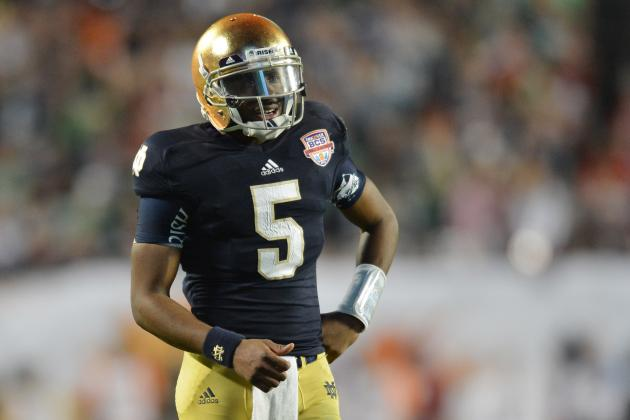 Everett Golson's Suspension Will Force Notre Dame to Alter Offensive Philosophy