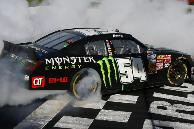 Kyle Busch Wins Nationwide Race... Again