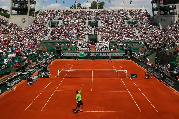 French Open Results 2013: Day 2 Scores, Highlights and Recap