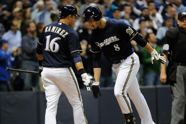 Ryan Braun, Aramis Ramirez Both out of Lineup