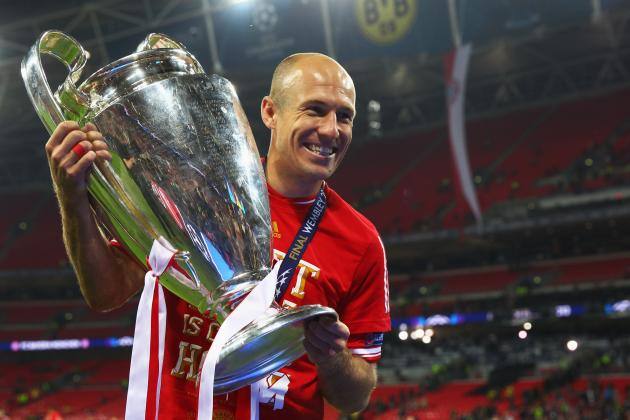Champions League: Bayern Munich and Arjen Robben Winner Replicated in Lego