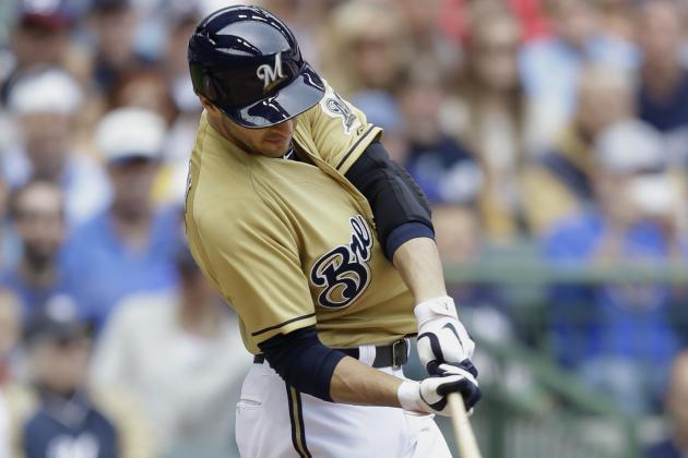 Ryan Braun Dealing with Nagging Thumb Injury