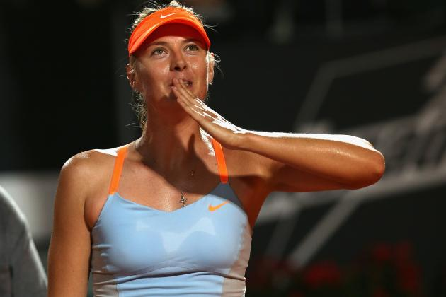 Maria Sharapova Defeats Su-Wei Hsieh to Advance at 2013 French Open