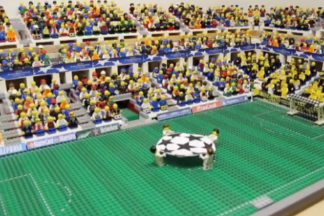 Bayern Win the 2013 Final – Brick-by-Brick Fussball Video