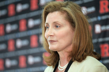 Rutgers AD Julie Hermann Addresses Media About Abuse Allegations