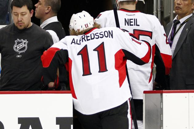 Ottawa Senators Daniel Alfredsson Remains Uncertain on Future