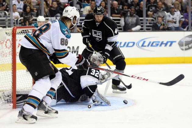 Game 7 Between Los Angeles Kings and San Jose Sharks Set for Tuesday