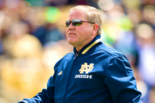 Notre Dame's Brutal First Half of 2013 Suggests Bloom Is Off Brian Kelly's Rose