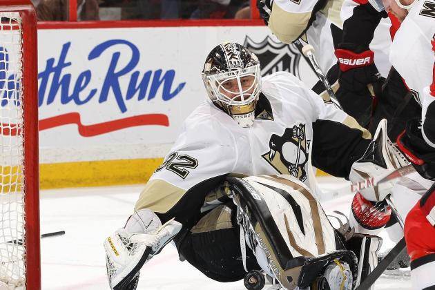 Penguins' Vokoun Still Thinks He's on 'Tryout'