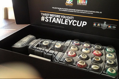 Michael J. Fox Masters Art of Delicious Trolling with Stanley Cup Cupcakes