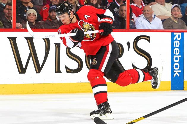 Ottawa Senators' Jason Spezza Played Through Knee Injury