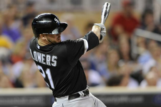 Flowers Returns to Sox's Lineup vs. Cubs