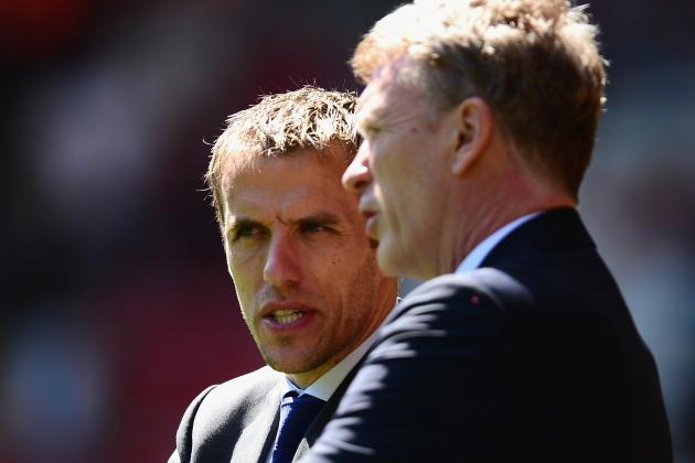 Phil Neville to Lead Everton Exodus to David Moyes's Manchester United