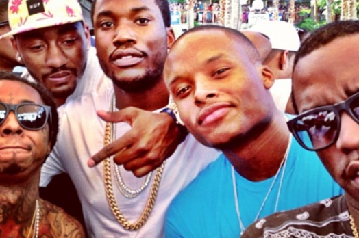 John Wall Parties with Diddy, Meek Mill and Lil Wayne in Las Vegas