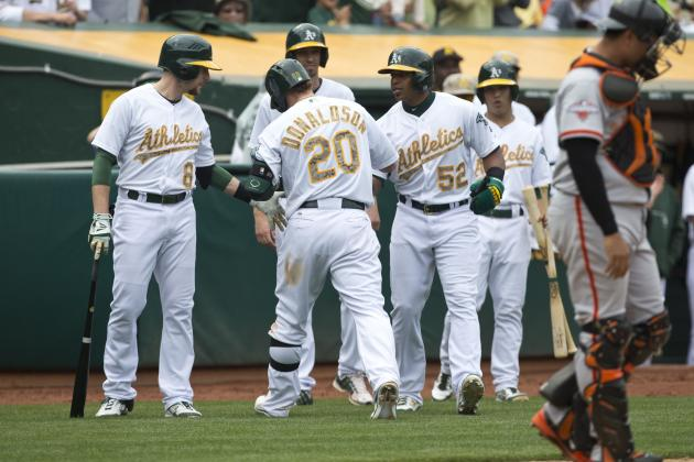 Donaldson Backs Straily as A's Beat Giants 4-1
