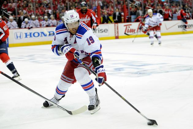 Brad Richards Likely to Be an Ex-Ranger