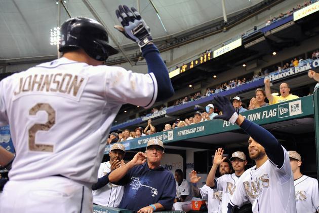Johnson's Hot Bat Ignites Rays' Victory