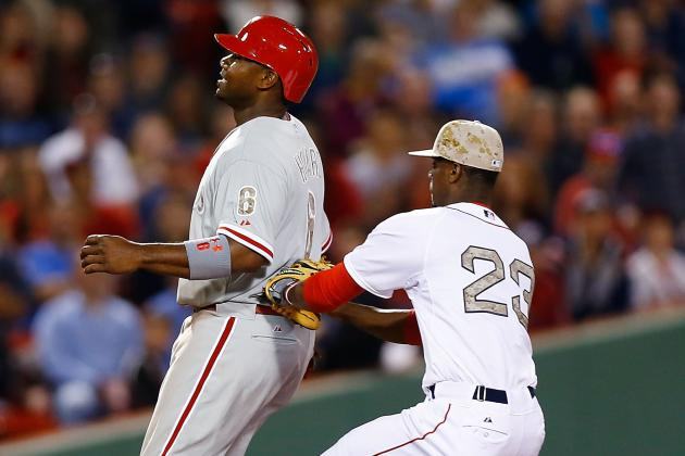 Red Sox 9, Phillies 3