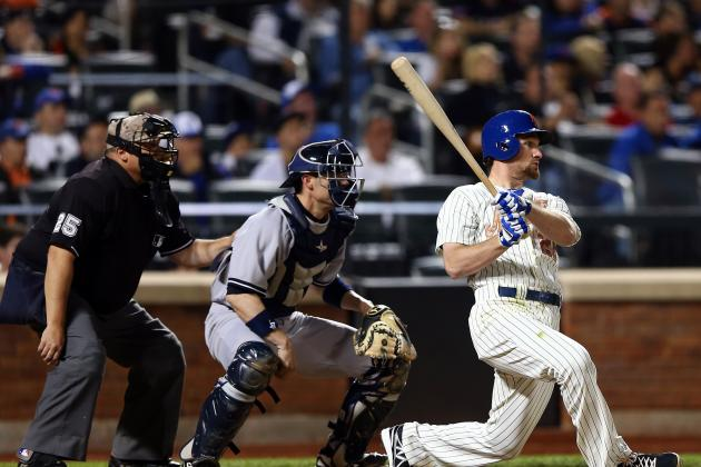 Mets Top Yankees, 2-1, in First Game of Subway Series