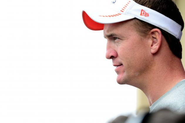 Peyton Manning Is Feeling More Comfortable; Even in Persian Gulf