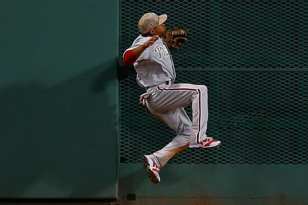 VIDEO: Ben Revere Makes Great Catch, Pays for It