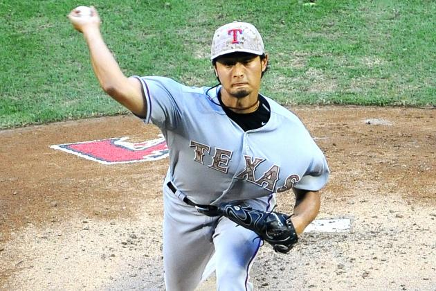 Yu Darvish Becomes First Pitcher Since 2002 to Reach 100 K's by Memorial Day