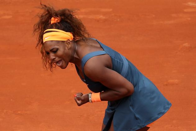 Serena Williams' 1st-Round Win at 2013 French Open Has Significant Meaning