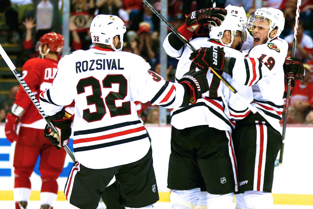 Blackhawks vs. Red Wings: How Chicago Seized Momentum in 2nd-Round Series